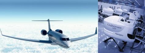 Gulfstream G650 Simulator