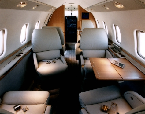 Learjet 60 Interior