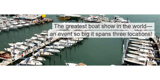 Heading to the Miami International Boat Show?