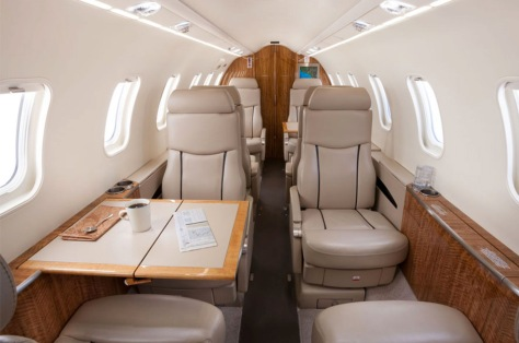 Learjet 45 Interior