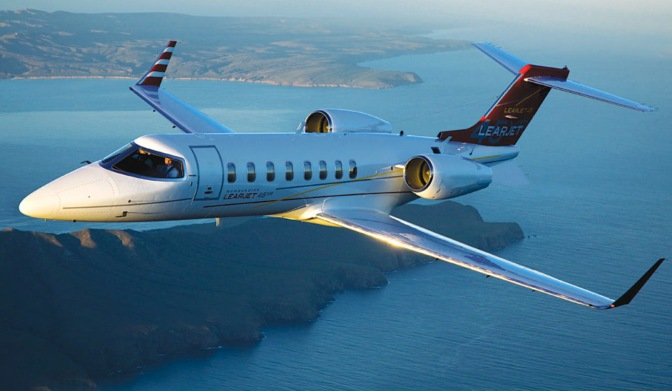Experience Luxury in the Learjet 45