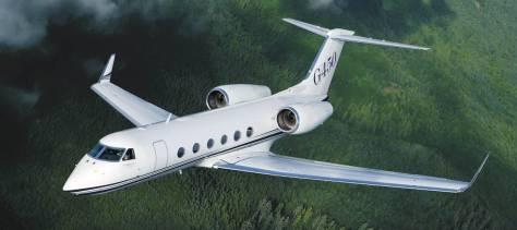 Gulfstream 450 exterior