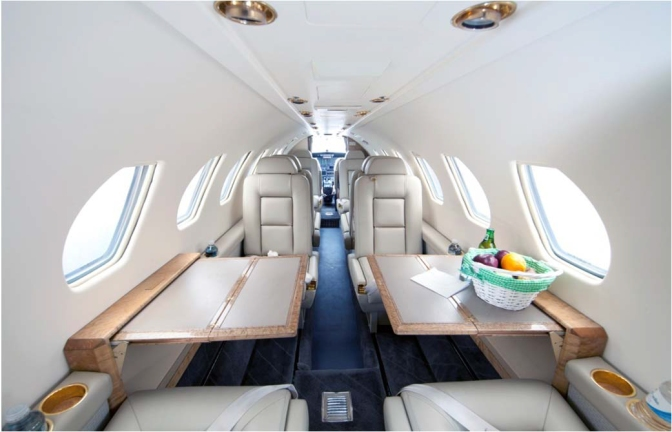 Citation V: Performance, Baggage, Seating
