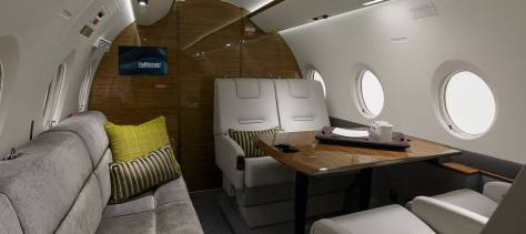 Photos courtesy of Gulfstream Aerospace