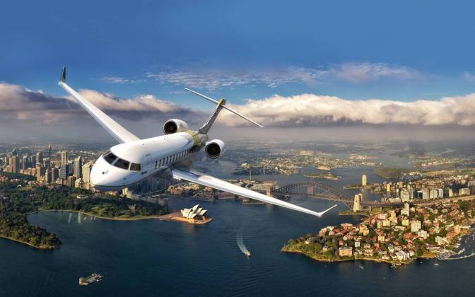 Bombardier Global 7000 & Global 8000: VIP jets Under Development