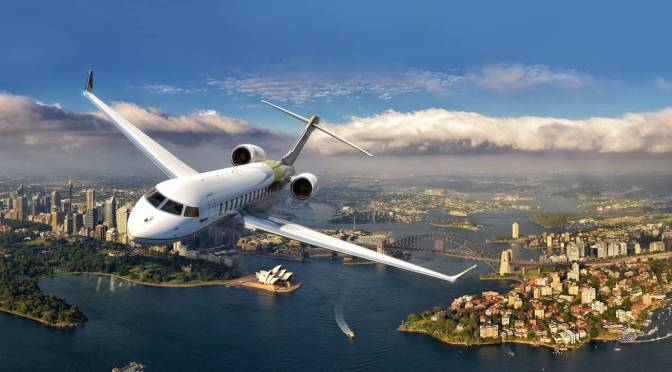 Bombardier Global 7000 & Global 8000: VIP jets Under Development
