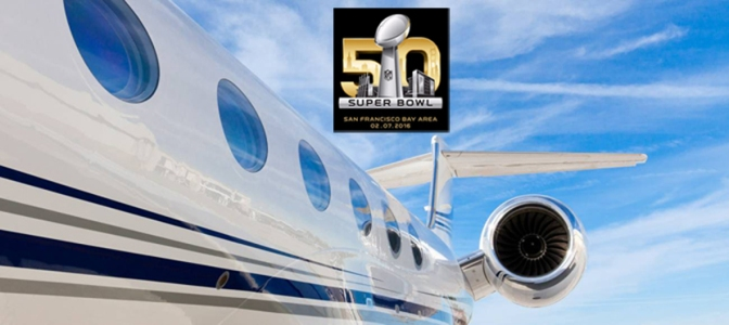 FlyPrivate to Super Bowl 50!
