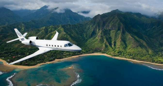 Get Going in a Gulfstream G150