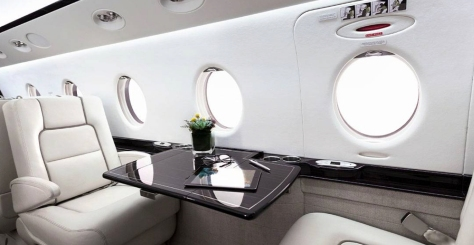 Gulfstream 150 Interior