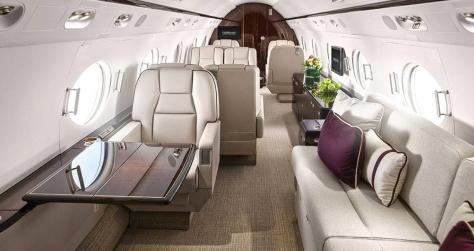 Gulfstream 550 Interior