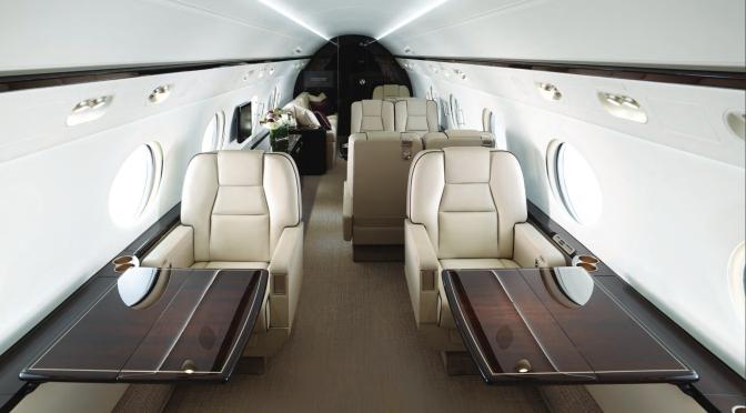 The Gulfstream 550