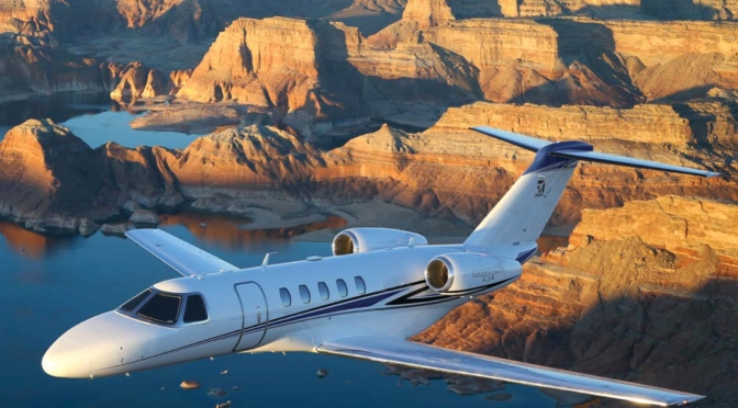 The Citation CJ4: An Elite Light Jet