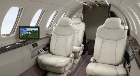 Citation Jet 4 Interior
