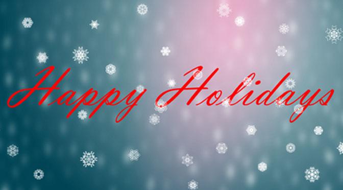 Seasons Greetings & Happy Holidays!
