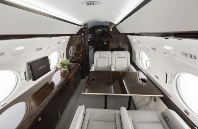 Redefine Luxury in a Gulfstream 450