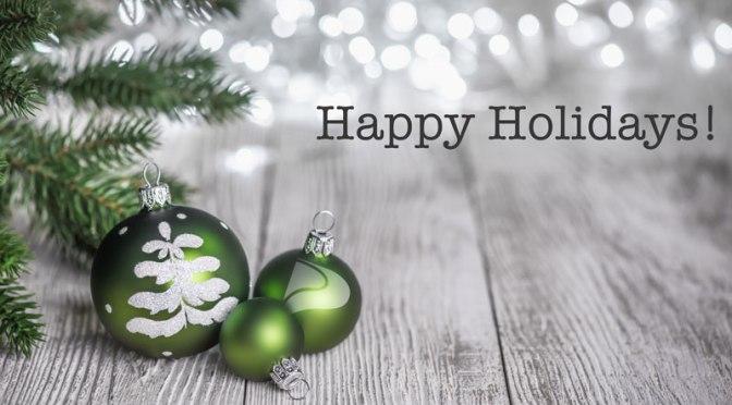Season's Greetings & Happy Holidays!