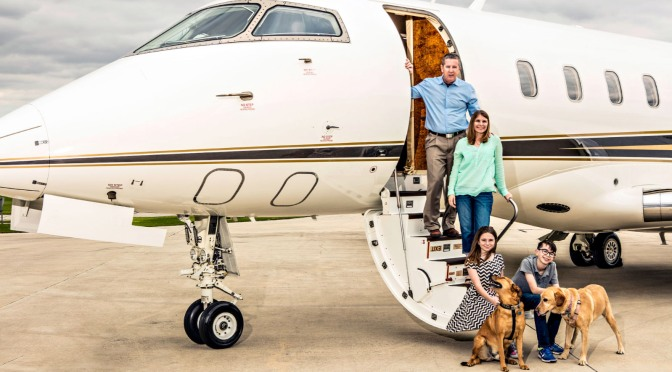 Children, Pets and Private Jets